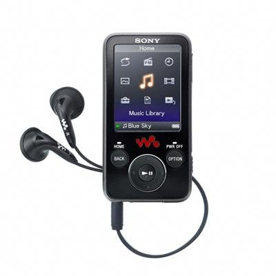 Sony 4 GB Walkman Video MP3 Player NWZ-E436F (Black) (Sony Gb Video 4)