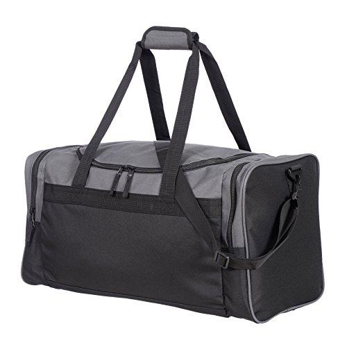 Jetstream 24 Inch Multi Purpose Sports Duffle Gym Bag (Grey)