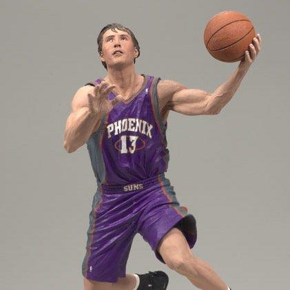 McFarlane Toys NBA Series 14: Steve Nash 3 - Phoenix Suns- Purple Jersey