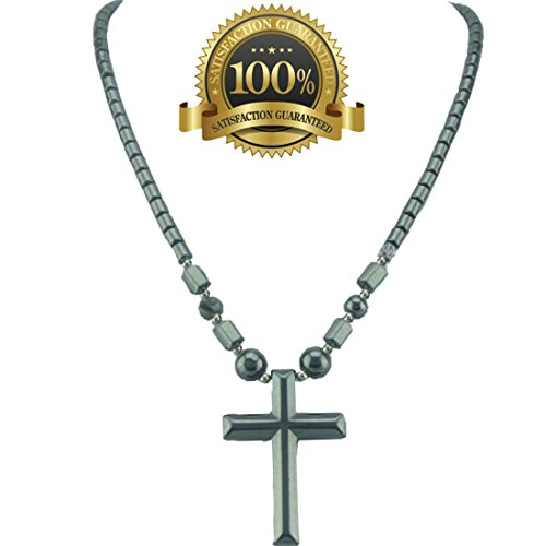 Magnetic Cross Necklace - Dr. Kao® Magnetic Therapy Necklace Magnetic Necklace With Cross Pendant For Man Pain Relief For Father For Boyfriend For Him for Arthritis Pain Relief Magnets for Anxiety Relief for Carpel Tunnel