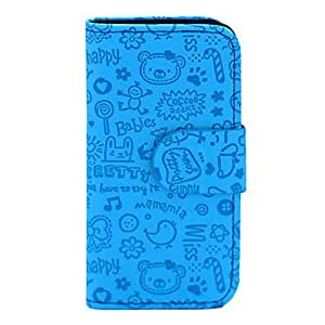 Magic Faerie PU Leather Full Body Case for iPhone 5C(Assorted Color) --- COLOR:Black