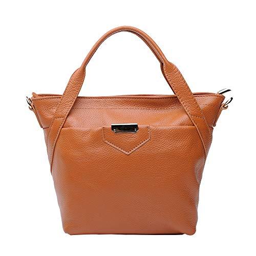 Brown à En Femmes Large Cuir Sacs Mode Pour Main Décontractés Handle Top Casual à Sacs Bandoulière Tq7wxFZ