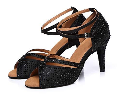 Salon L286 MinitooUK Femme Danse Noir 42 de Minitoo Noir TO7Sww