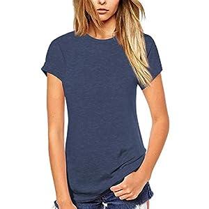 Best Epic Trends 41xW%2Bgcr2JL._SS300_ Beluring Women T Shirt Short/Long Sleeve Crew Neck Tee Tops Blouse