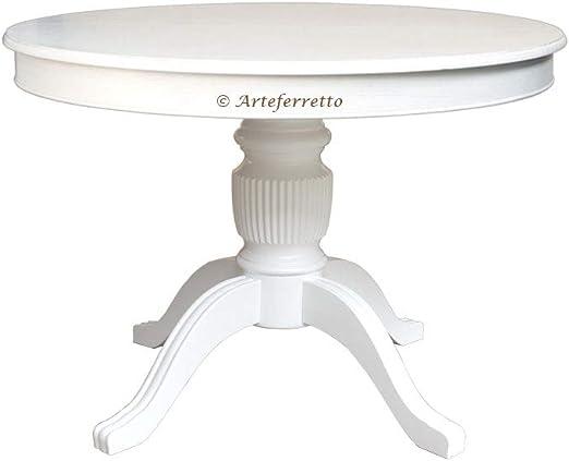 Artigiani Veneti Riuniti Mesa Redonda lacada, Mesa de Comedor en ...