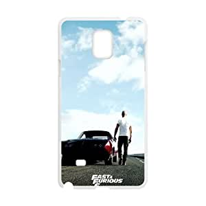 Samsung Galaxy Note 4 Cell Phone Case White_Fast And Furious 6 Zbskh