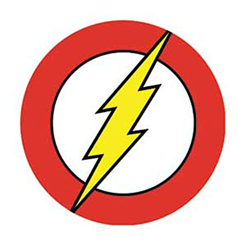 Officially Licensed DC Comics Originals (Justice League) The Flash Logo 1.25