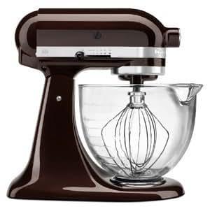 KitchenAid Architect Stand Mixer - 5 qt - Architect - Glass Bowl - Espresso