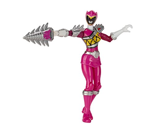 Power Rangers Dino Super Charge - 5 Dino Steel Pink Ranger Action Figure
