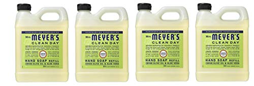Earth Friendly, Mrs. Meyers Liquid Hand Soap Refill 33 Oz Lemon Verbena Scent (Pack of 4) ()