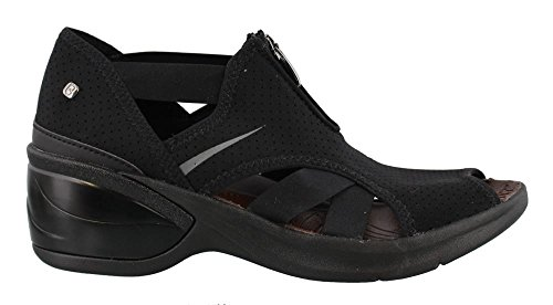 BZees Women's, Krave Mid Heel Sandals Black 6 M from BZees