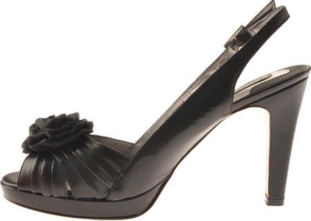 Black Leather M 5 Black Black Women's 9 Leather Black US Hartbrake Bandolino 8qPEw60