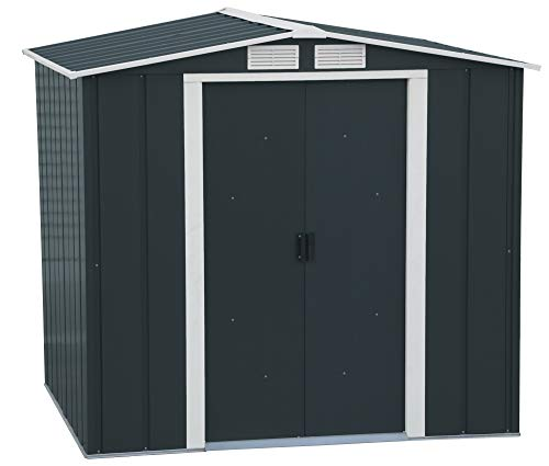 Duramax ECO 6x6 Metal Shed Hot Dipped Galvanized