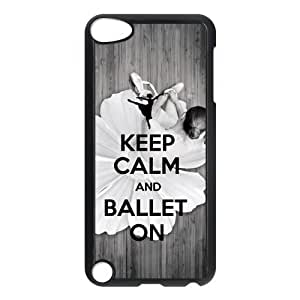 Design Case Cute Ballerina Ballet Dancer Print on Hard Plastic Back Case Cover iphone 6 touch 5 Case Perfect as Christmas gift(5)