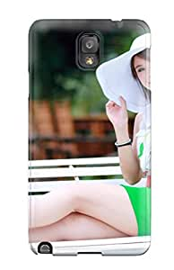 New Arrival Galaxy Note 3 Case Girl On Swing Case Cover