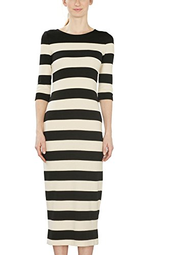 Mehrfarbig 001 ESPRIT Kleid Damen Black qCHnUTwE