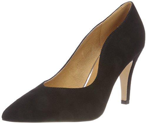 4 Suede Escarpins Femme 22412 Caprice Black Noir xwHqYXfX4