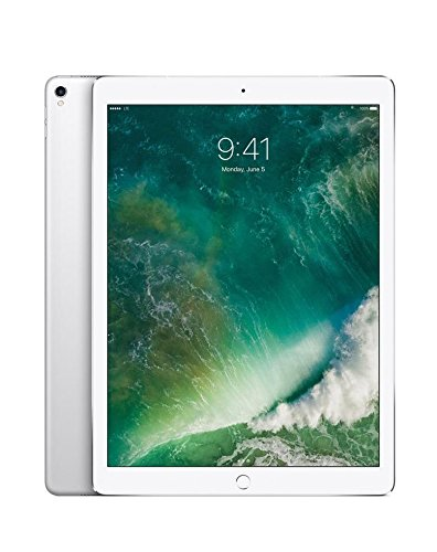 Price comparison product image Apple iPad Pro 12.9 Inch 512GB Factory Unlocked Silver (2nd Generation,  Wi-Fi + Cellular 4G LTE,  Apple SIM Card) Mid 2017