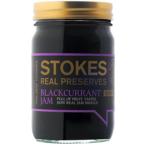 Stokes - Real Preserves - Blackcurrant Jam - 454g by Stokes
