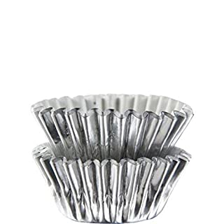 Wilton 415-307 Silver Foil Candy Cups, Package of 75