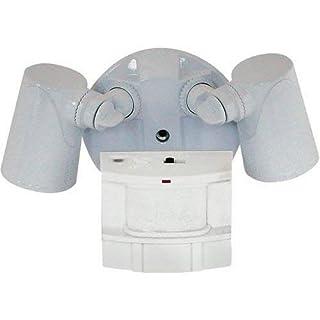 Heath Zenith HZ-5411-WH Heavy Duty Motion Sensor Security Light, White