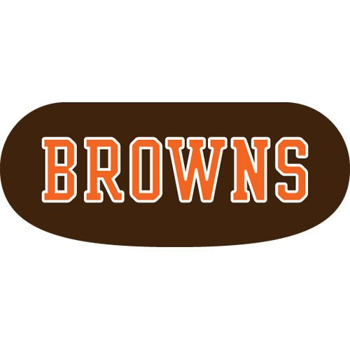 Party Animal Cleveland Browns Eye Strips Vinyl Stickers