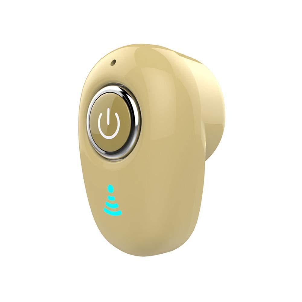 インイヤーワイヤレスヘッドホン インイヤーヘッドホン コードレスヘッドホン ノイズリダクションヘッドホン ワイヤレスイヤホン Bluetoothヘッドホン S9 Bluetoothヘッドホン S8 Bluetoothヘッドホン ワイヤレス ベージュ B07MMNGDTY Skin colour