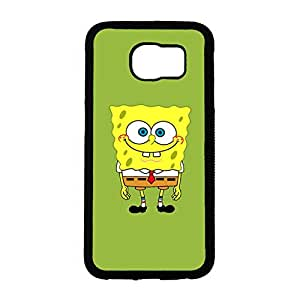 Attractive Style Protective Cover Case Spongebob Squarepants Cover Case for Samsung Galaxy S6 Phone Back Case