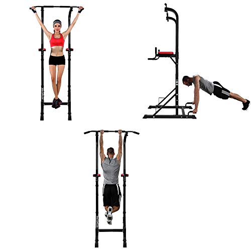 ISE SY-5607 Power Tower Dip Station with Pull-Up Bar Push Up