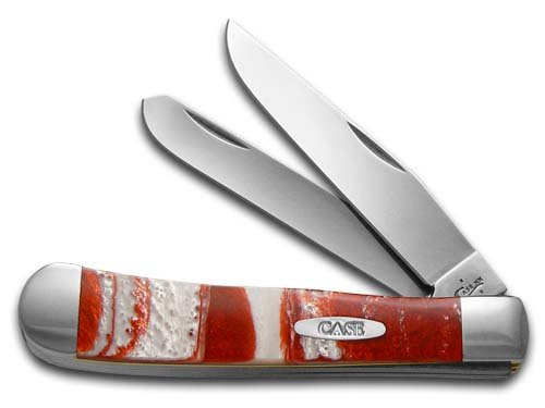 CASE XX Smooth rot Luster Corelon Trapper Stainless Pocket Knife Knives