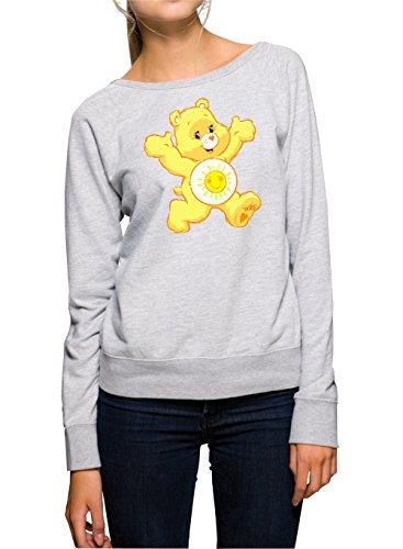 Sunny Bear Sweater Girls Grigio Certified Freak