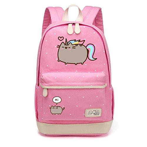 sac à femmes scolaire Pink adolescentes pour filles 2 bandoulière Point les dos Voyage Wave sac Sac Sacs à dos à Flower à bandoulière 1FTRqagq