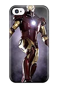 Vicky C. Parker's Shop New Style 6104438K42356112 High Quality JeremyRussellVargas Iron Man Skin Case Cover Specially Designed For Iphone - 4/4s