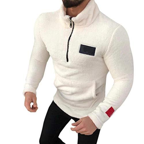 1/2 Zip Pullover Knitted Fleece - 4