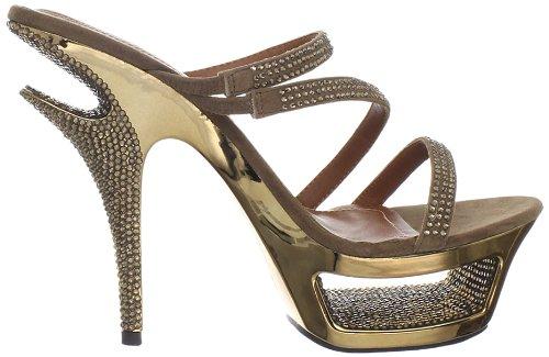 Deluxe 603 Suede Pleaser Usa Shoes Bronze q0TTYEn