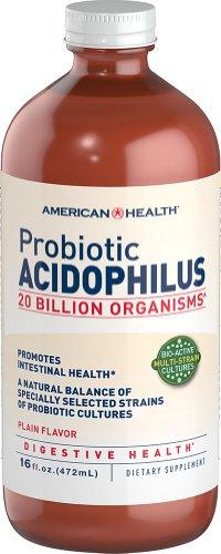 American Health Probiotic Acidophilus, Plaine, 16 once