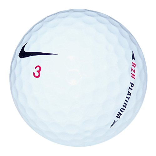 Nike RZN Platinum Mint Recycled Golf Balls (36 pack) by GolfBallHero