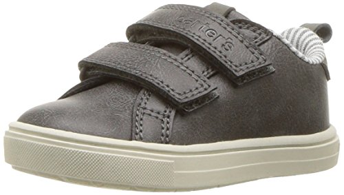 Carter's Boys' Gus Casual Sneaker, Grey, 3 M US Little Kid by Carter's