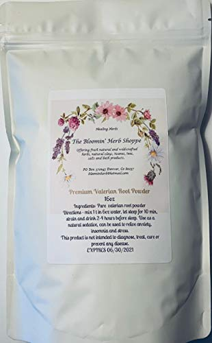 (Premium Valerian Root Powder | 16oz 1lb pound | White Label Herbs | Valeriana Officinalis fresh clean herb aromatic)