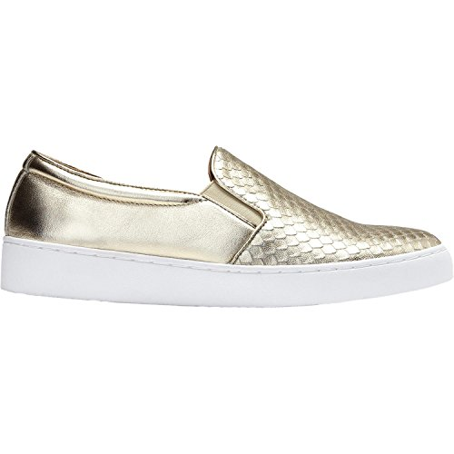 Vionic Women's, Midi Slip On Shoes Champagne 9.5 M by Vionic