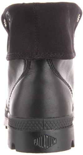 Palladium Baggy Leather 02356-001-M Herren Bootschuhe Schwarz (Black 001)