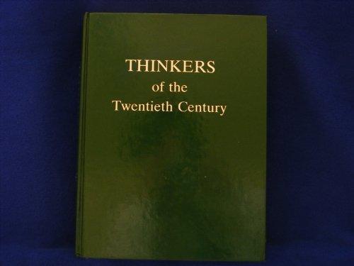 Thinkers of the Twentieth Century