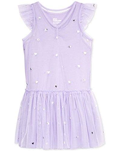 Epic Threads Heart-Print Tulle Dress Toddler -