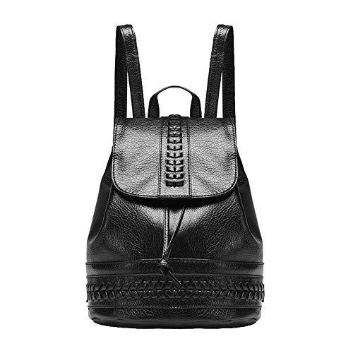 bandoulière à fourre Cuir Sacs Noir Tout AalarDom PU Noir TSFBG209820 Femme Mode Sacs 8SxXWCzUwq