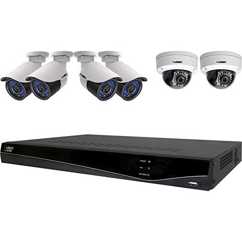 Lorex LNR382C6B Full HD 1080p 6-Camera Security System with 2TB HDD