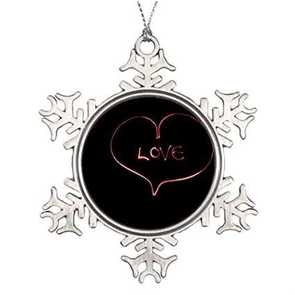 Black Christmas Balls.Amazon Com Metal Ornaments Large Christmas Tree Snowflake Ornaments