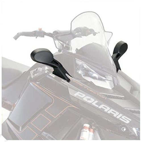 - Polaris Snowmobile PRO-RIDE Hood Mount Mirrors. 2877803