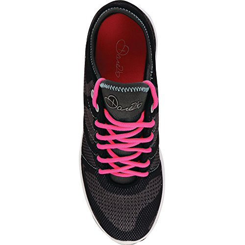 Absorbing 2b Womens Fuze Dare Trainers Black Lightweight Shock NeonPi wvBqp1p