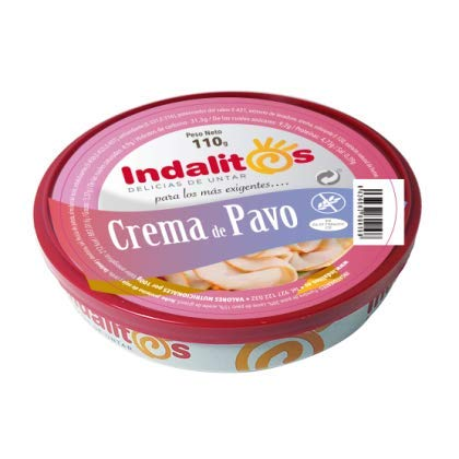 Indalitos – crème de Pavo – dienblad met 5 blikken 110 g