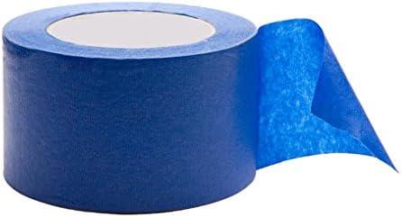 YHF7LLBC azul cinta de pintor, 4 cm de ancho, cinta de carrocero ...